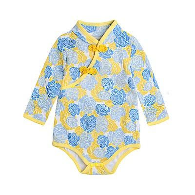 baby童衣 中國風斜襟盤扣旗袍式包屁衣 82051