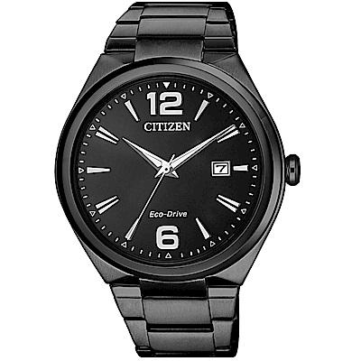 CITIZEN 星辰/簡約風格光動能時尚腕錶/AW1375-58E