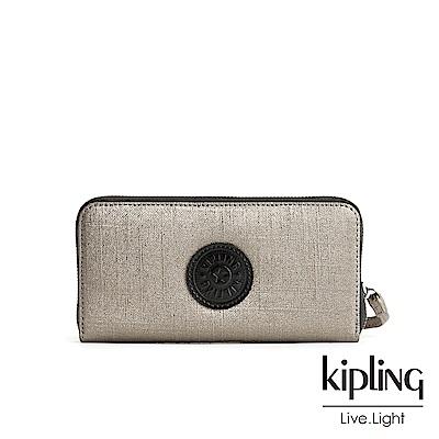 Kipling質感霧金多卡層長夾-ALIA
