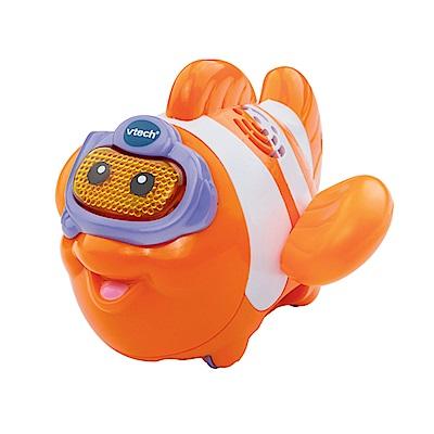 【Vtech】<b>2</b>合1嘟嘟戲水洗澡玩具系列-熱情小丑魚