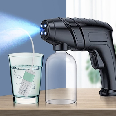 自動噴霧紫外線消毒槍(另贈次氯酸鈉水製造器)