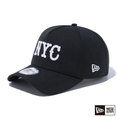 NEW ERA 9FORTY 940AF 毛氈布縫LOGO NYC 黑 棒球帽