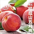 【天天果園】拉拉山五月水蜜桃(媽媽桃)6粒1盒(每盒約2.3斤)