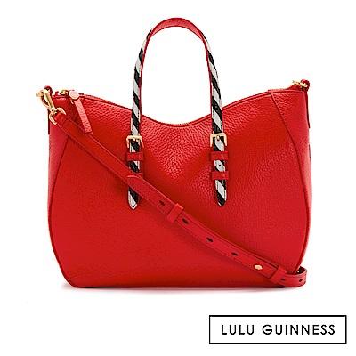 LULU GUINNESS JULIA 手提包 (紅)