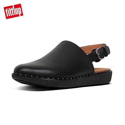 FitFlop SAGE後帶穆勒鞋黑色