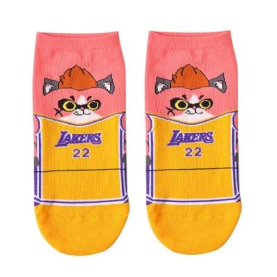 NBA Store x 傳說對決聯名短襪 湖人隊