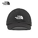 The North Face北面男女款黑色防曬透氣運動帽 CF7WJK3