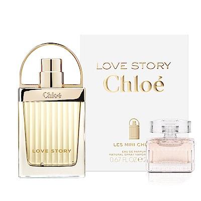 Chloe Mini Chloe 小小愛情故事淡香精20ml(贈CHLOE白玫瑰小香5ML