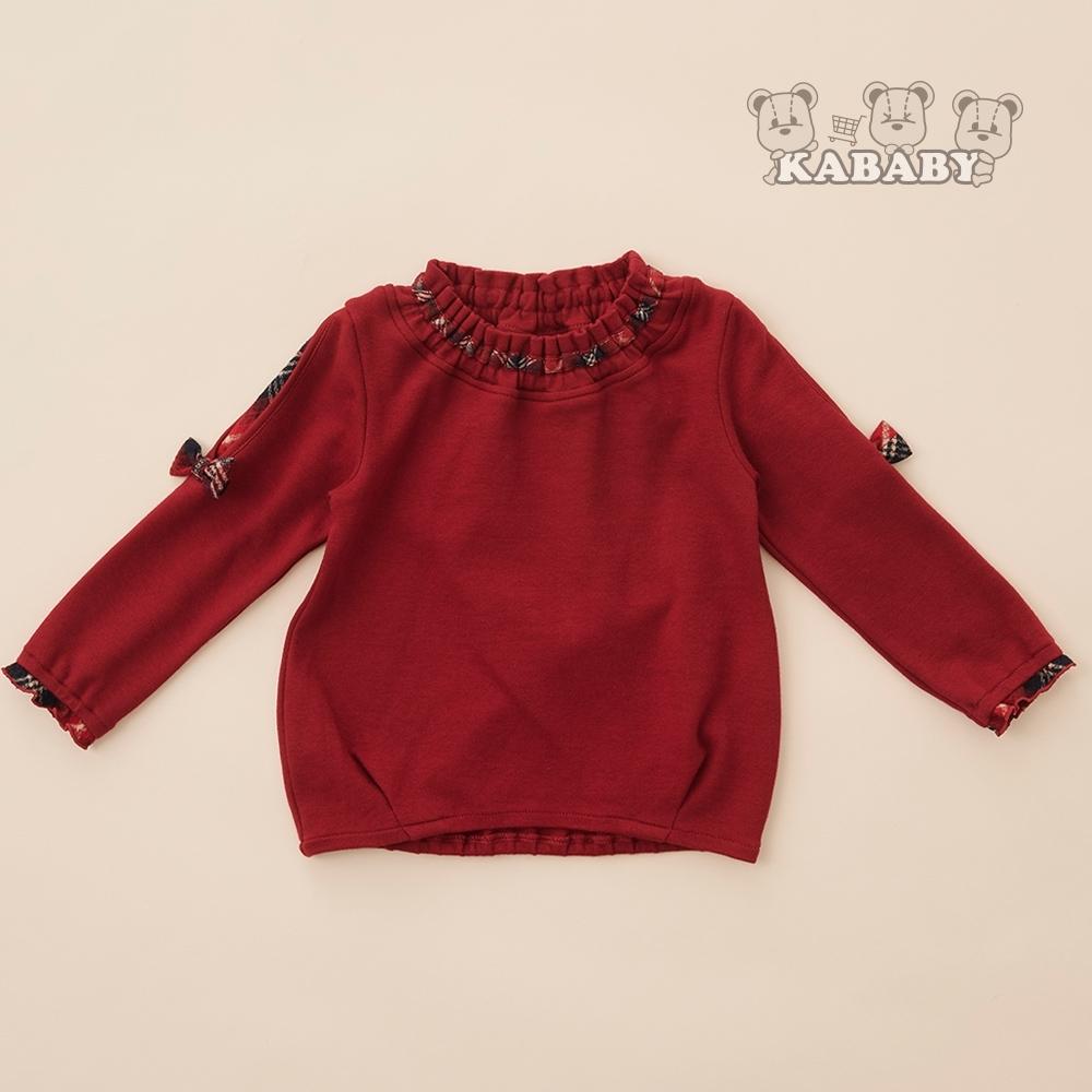 【金安德森】KA紅格女孩感蝴蝶結上衣(共二色)65-95