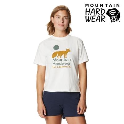 【美國 Mountain Hardwear】J-Tree Desert Fox T 沙漠狐狸印花短T 女款 棉白 #1927971