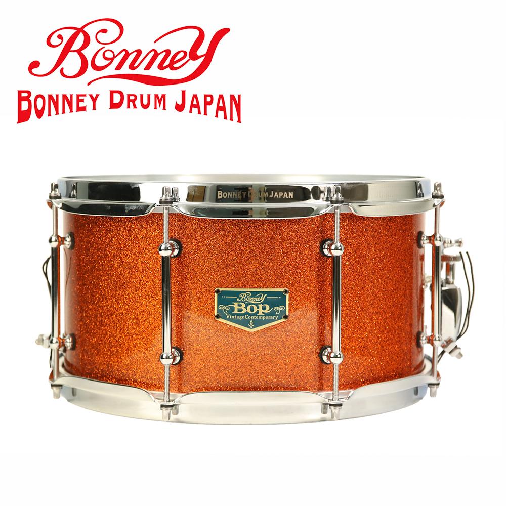 BONNEY Bop SN1370MS 日本手工小鼓 亮粉漸層紅