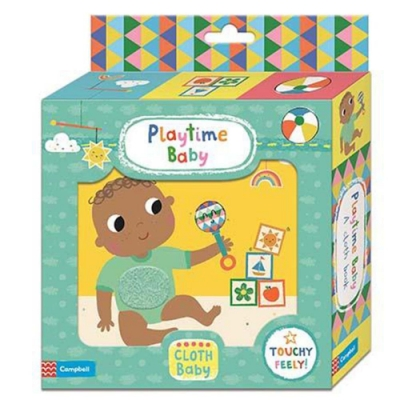 Playtime Baby Cloth Book 小貝比的遊戲布書