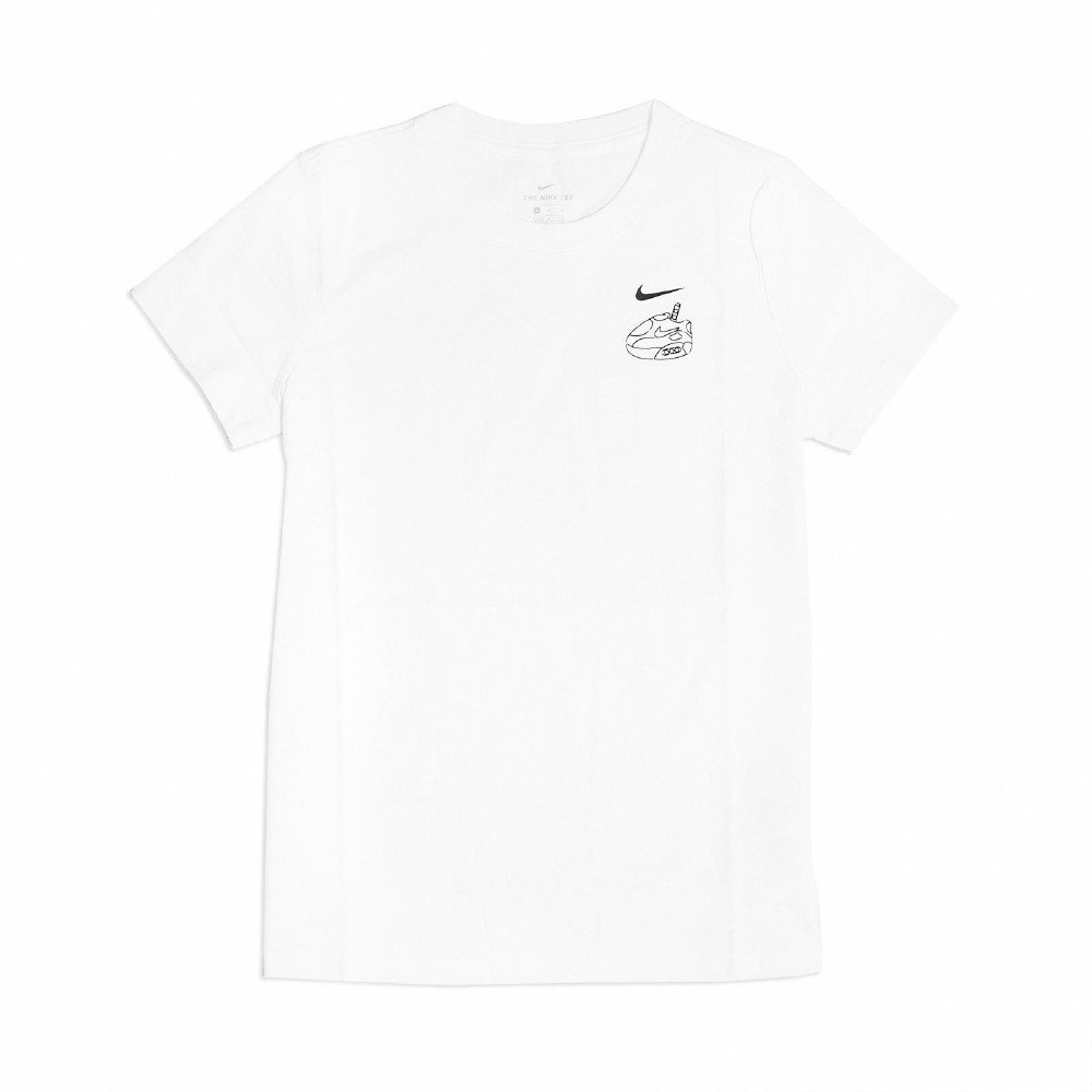 Nike NSW  TW GRAPHIC TEE 女短袖上衣-白-CZ3598100