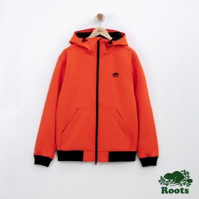 男裝Roots 冰川軟殼外套-橘色