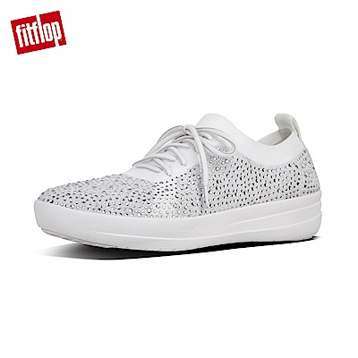 FitFlop F-SPORTY繫帶休閒鞋白色