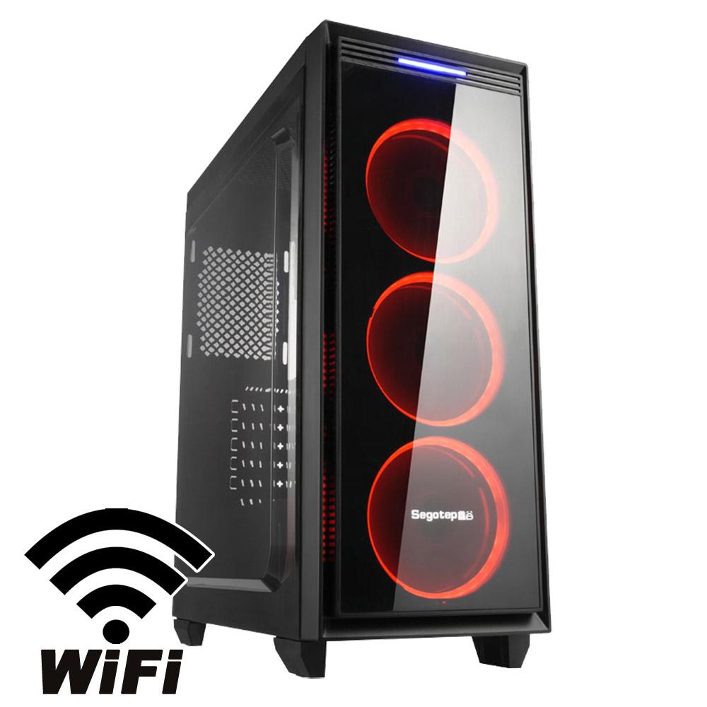 技嘉B360平台[六翼暴君]i5六核GTX1050獨顯電玩機