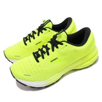 Brooks 慢跑鞋 Ghost 13 運動 女鞋 路跑 緩震 DNA科技 透氣 健身 球鞋 黃 黑 1203381B774
