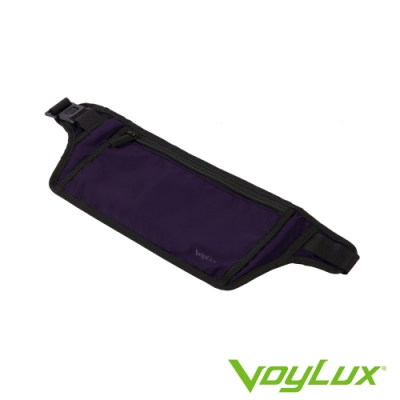 VoyLux 伯勒仕-頂級極緻系列 紫色Pro 超服貼身防搶包 (腰包) 1680717