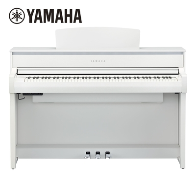 YAMAHA CLP-775 WH 數位電鋼琴 88鍵 典雅白色款