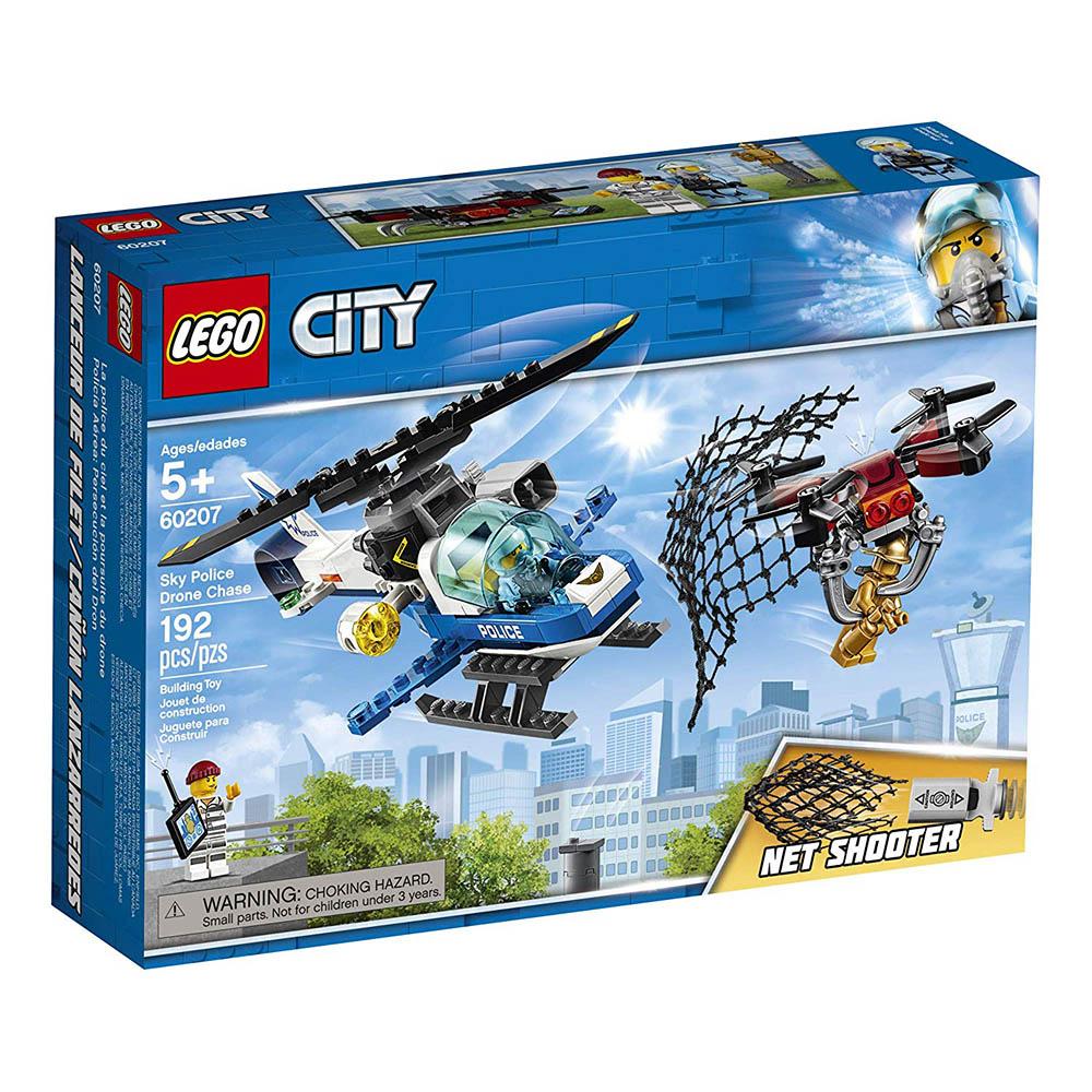 樂高LEGO 城市系列 - LT60207 航警無人機追擊