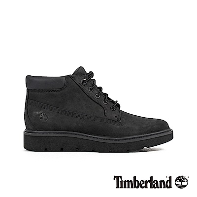 Timberland 女款黑色磨砂革 Nellie低筒靴|A1GNS