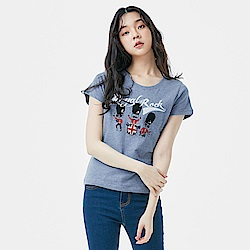 101原創 短袖T恤-紅衛兵樂團-女