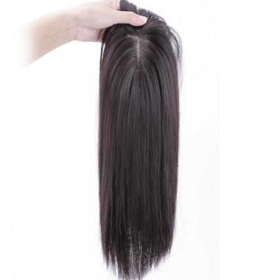 米蘭精品 假髮髮片-直髮短髮逼真大頭皮女髮片母親節禮物4色73us49