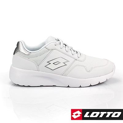 LOTTO 義大利 女 MEGALIGHT ULTRA 極致輕量跑鞋 (白)