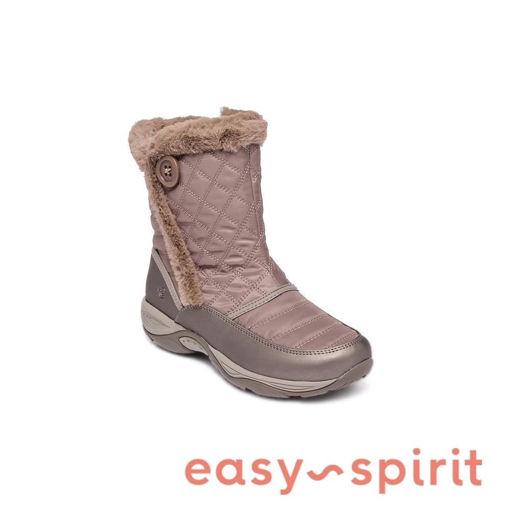 Easy Spirit-seEXPOSURE2 機能防潑水內刷毛輕型女靴-棕色