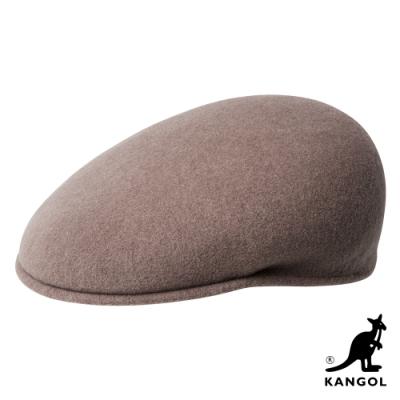 KANGOL-504 WOOL鴨舌帽-可可色