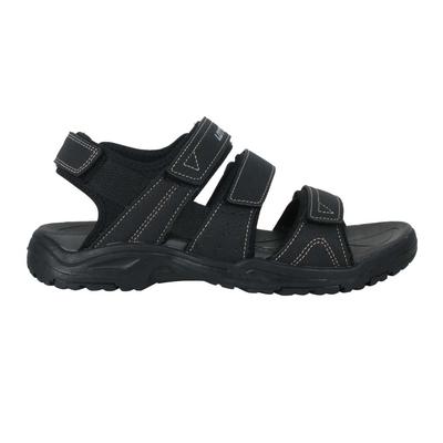 LOTTO 男運動涼鞋-魔鬼氈 海邊 海灘 戲水 游泳 沙灘 反光 LT1AMS3350 黑銀