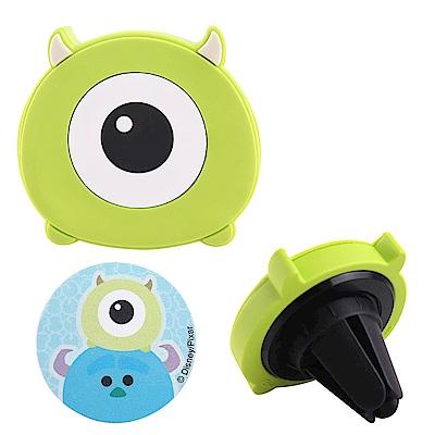 Disney迪士尼Tsum Tsum車用磁吸架/手機架_大眼