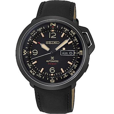 SEIKO精工PROSPEX復古時尚機械錶(SRPD35J1)-黑