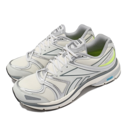Reebok 慢跑鞋 Premier Road Plus 男女鞋 輕量 透氣 舒適 避震 路跑 情侶款 米白 灰 H02553