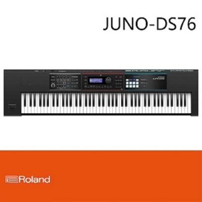 Roland JUNO-DS76/76鍵合成器鍵盤/結構輕巧/方便攜帶