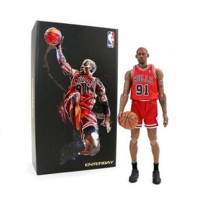 ENTERBAY 1/9 NBA公仔 公牛隊 Dennis Rodman
