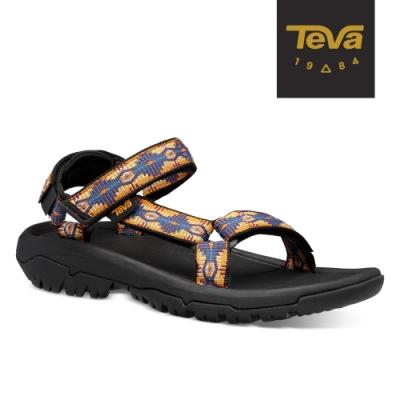 【TEVA】原廠貨 男 Hurricane XLT2 機能運動涼鞋/雨鞋/水鞋(CTC峽谷圖騰藍橘-TV1019234CTCN)