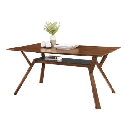 Boden-薩丁5.3尺置物收納餐桌/長桌/工作桌/會議桌-160x90x76cm