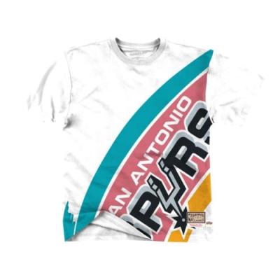 M&N NBA BIG FACE 重磅 短袖T恤 馬刺隊
