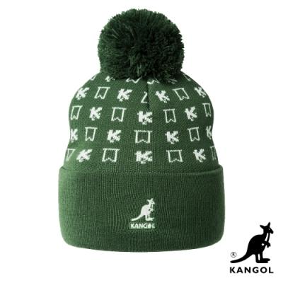 KANGOL-懷舊系列頭顱帽-綠色