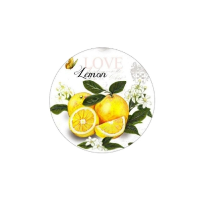 進口軟木塞圓餐墊240*4mm清香檸檬(1入)