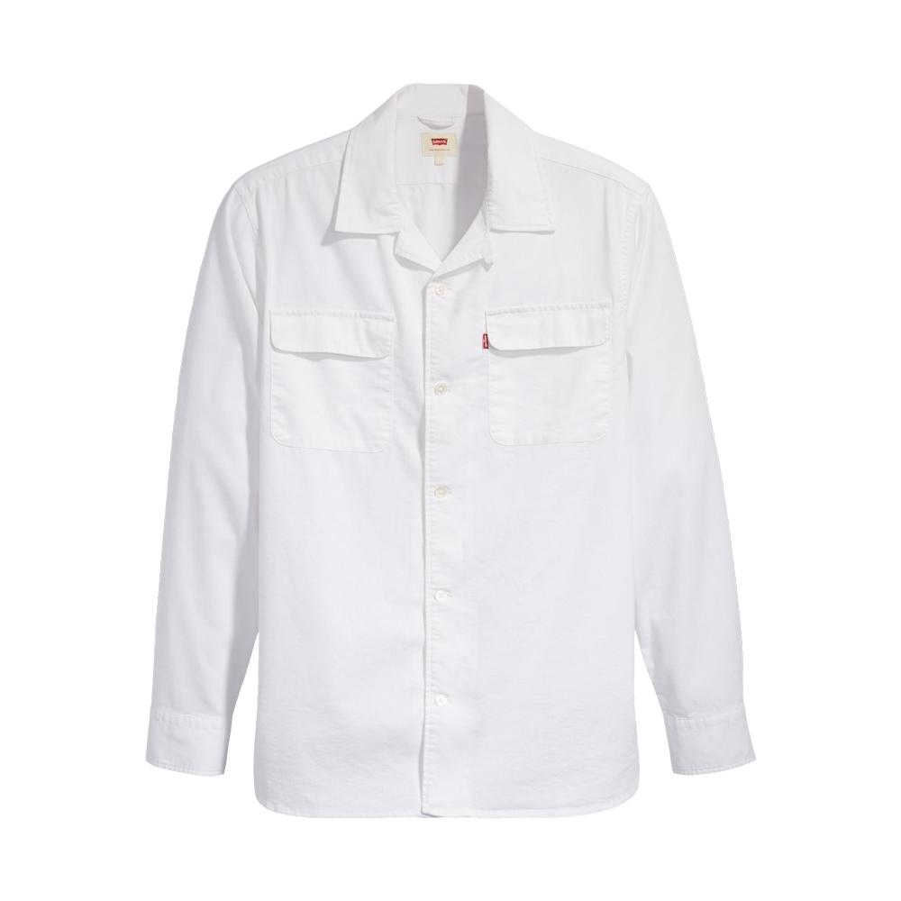 Levis 男款 長袖襯衫 寬鬆休閒版型 Coolmax吸濕排汗