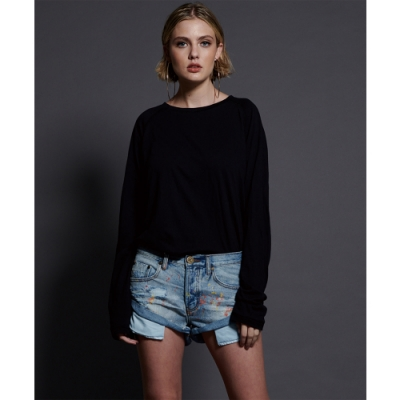 ONETEASPOON BANDITS DENIM SHORT 牛仔短褲(女)