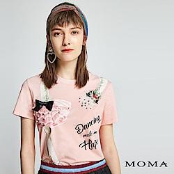 MOMA 芭蕾舞印花T恤