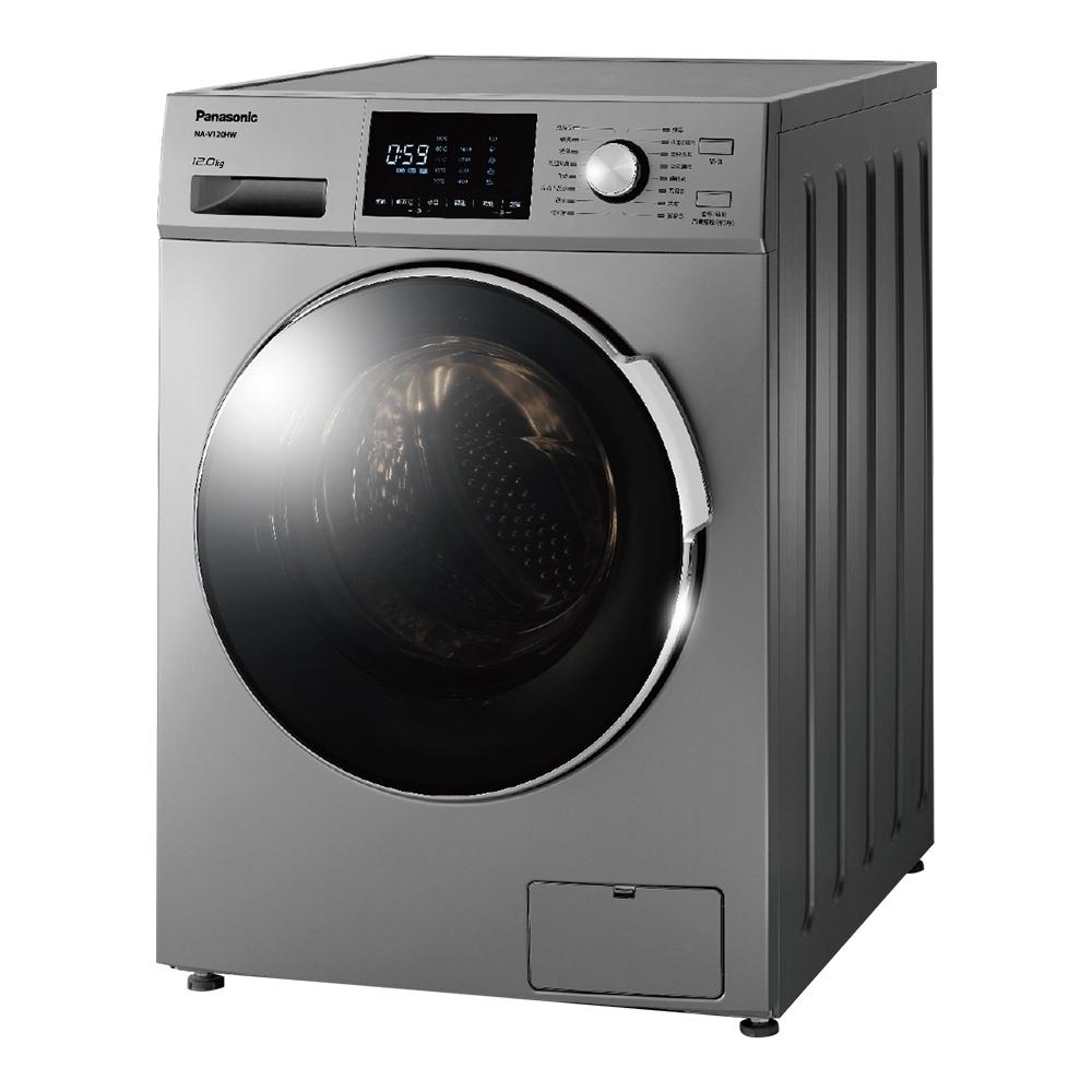 Panasonic國際牌 12公斤 變頻滾筒式溫水洗衣機 NA-V120HW