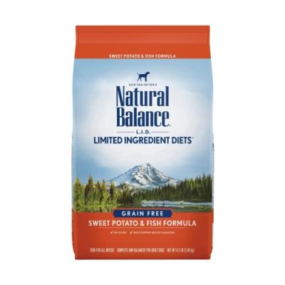 Natural Balance 低敏無穀地瓜鮭魚全犬配方-原顆粒(13磅/5.9kg)
