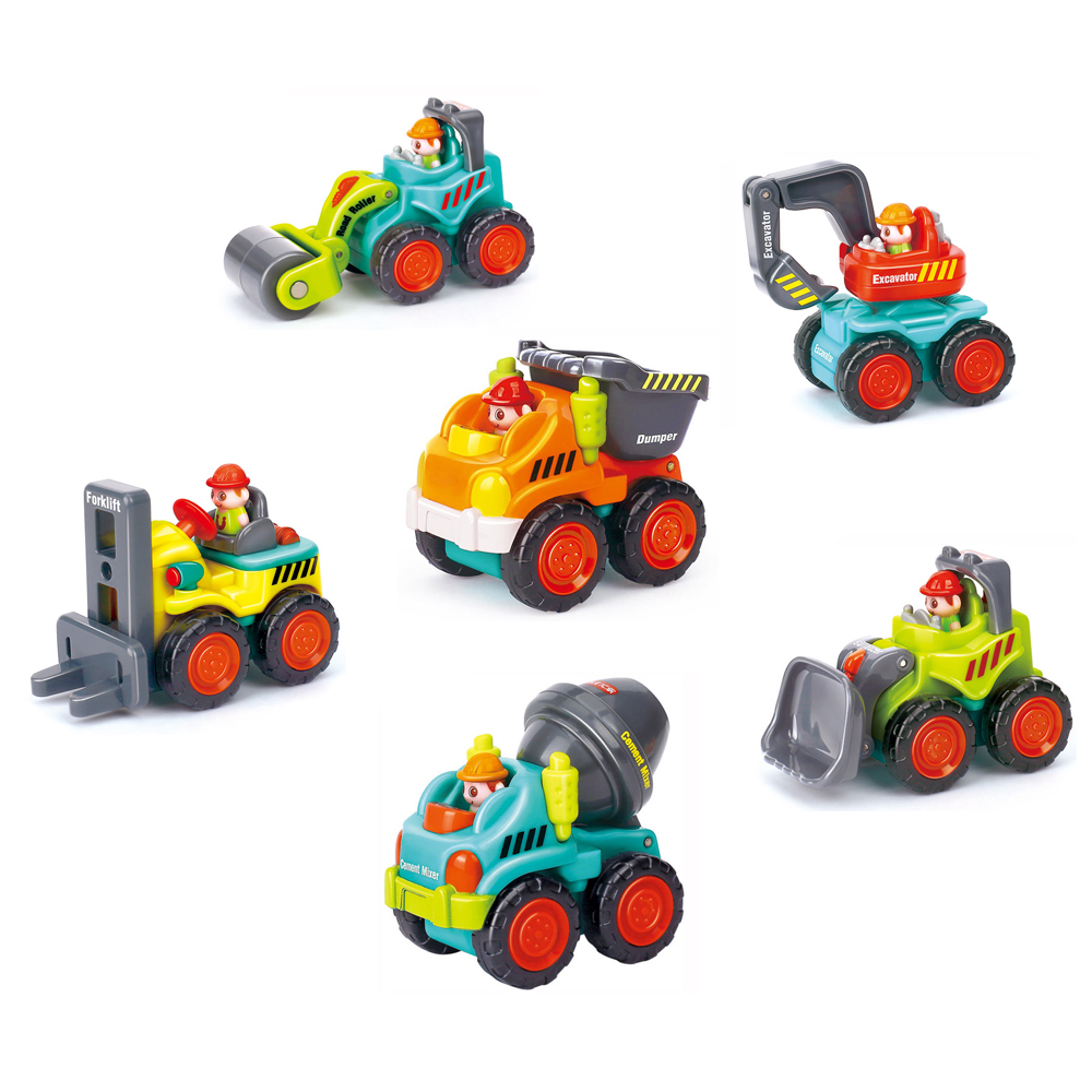 《Super Construction Vehicles》趣味擬真造型工程車6入組