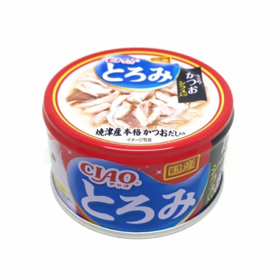 日本 CIAO 多樂米濃湯罐 A-45 雞肉&鰹魚&吻仔魚 80g