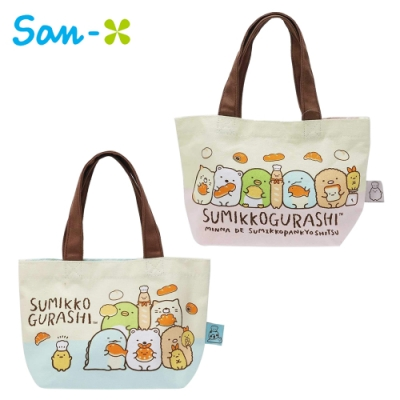 日本正版 角落生物 麵包系列 手提袋 便當袋 午餐袋 角落小夥伴 San-X