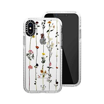 Casetify iPhone X/XS 耐衝擊保護殼-小花串